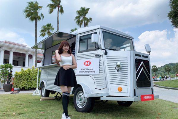 Citroen Ice cream Truck HSBC