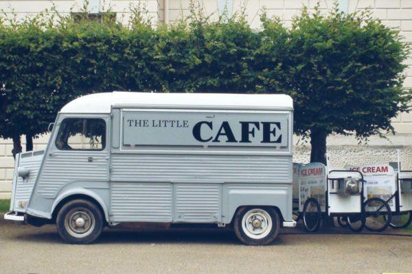 Coffee truck Citroen