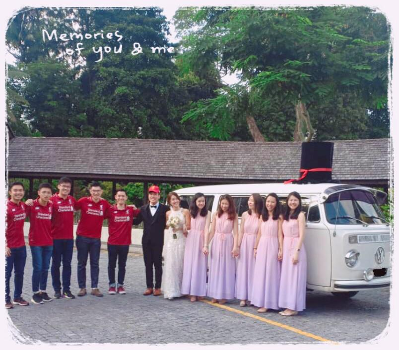 Wedding VW van Singapore