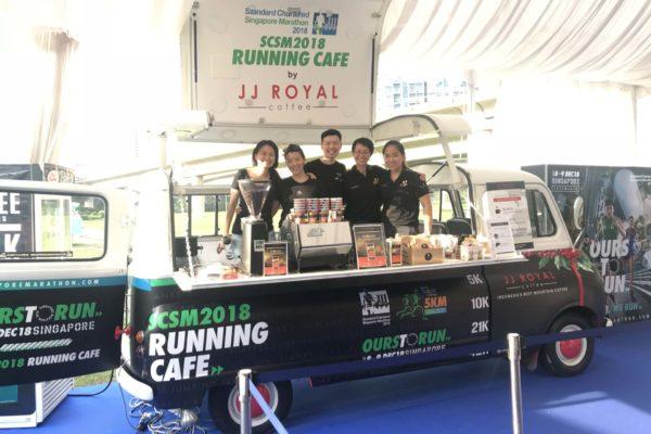 English Kombi SCSM x JJ Royal Coffee Truck
