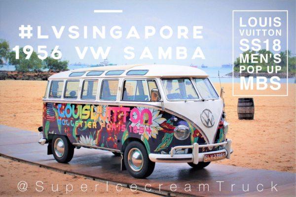 VW Van for Louis Vuitton Singapore