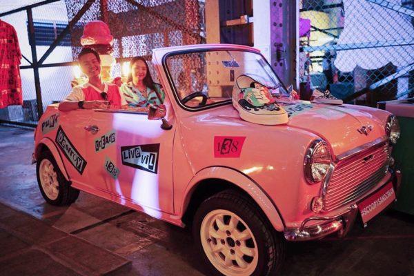 Pink Cabriolet Sabotage x Street Superior