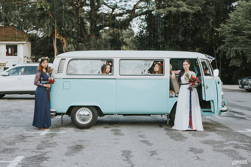 VW wedding Van Singapore