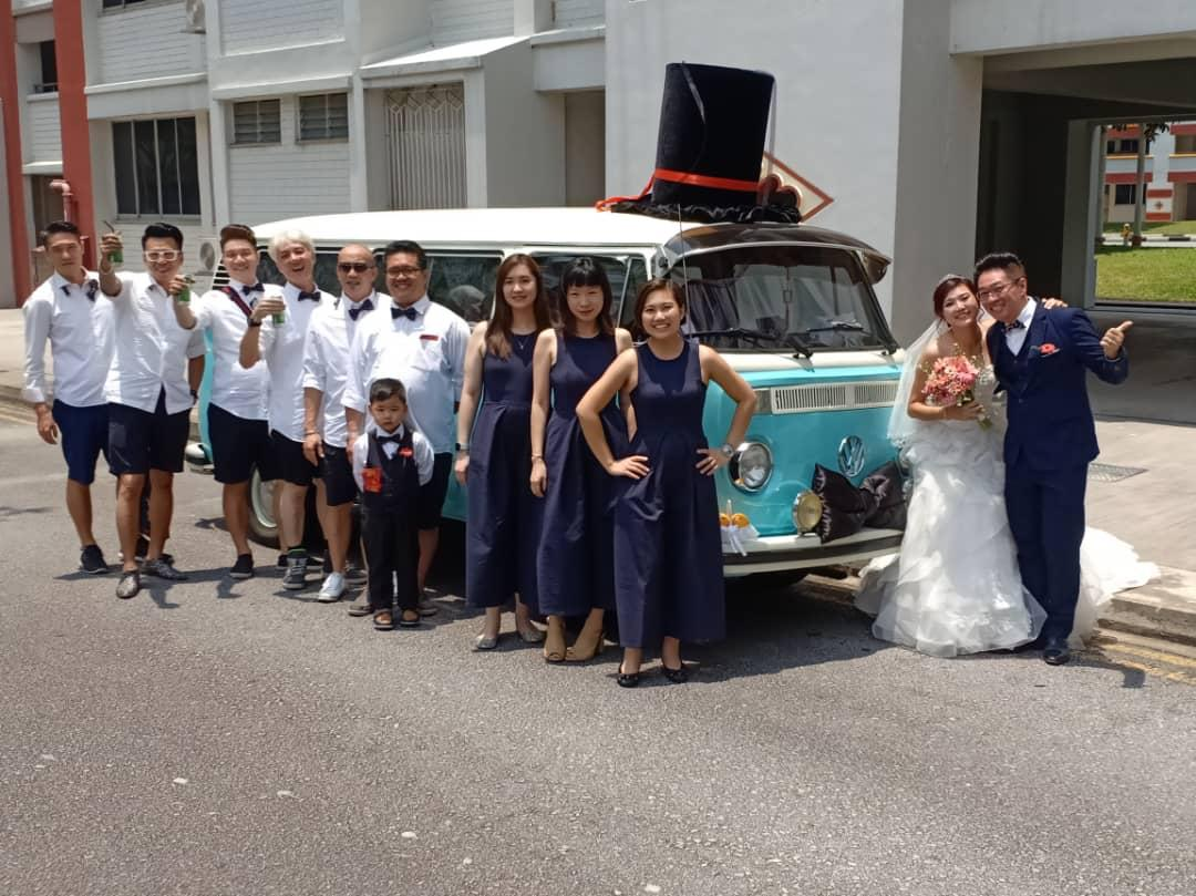 Vw wedding car singapore