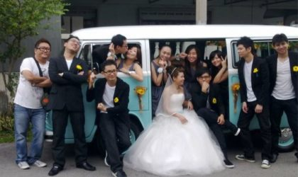 Kombi VW van wedding rental