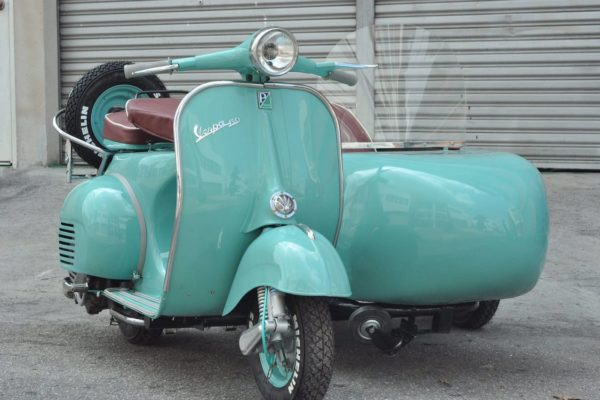 Vespa VBB with Sidecar