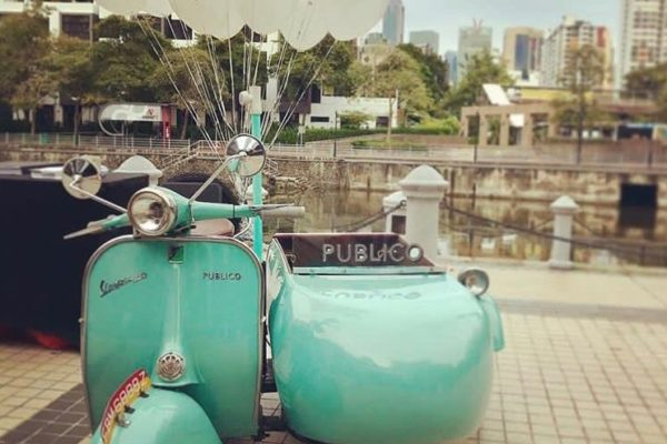 Vespa Sidecar Singapore