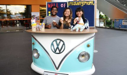 VW bus counter