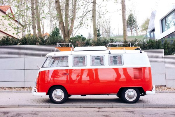 VW T1 Splitwindow Red