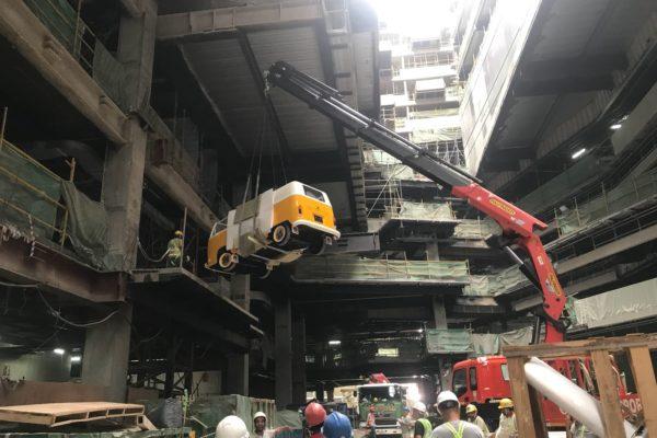 VW kombi construction singapore