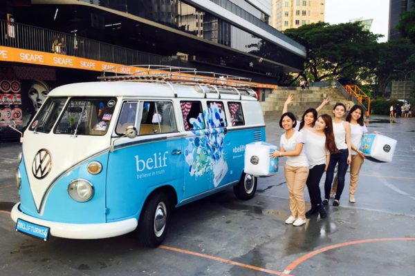 Kombi rental for event singapore