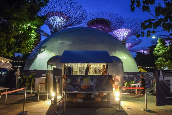 Events Caravan at Gardens by the Bay