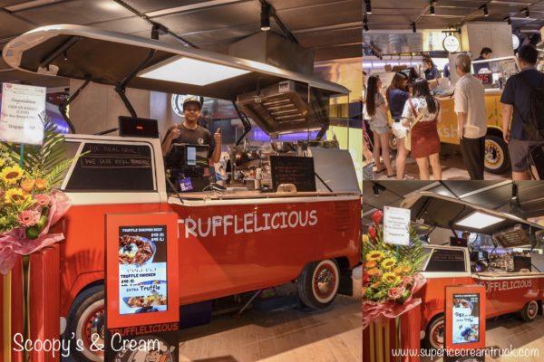Kombi Foodtruck Singapore at new funan Digitalife