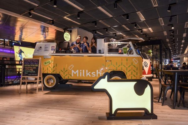 Kombi Foodtruck for Milksha Funan Digitalife level 2