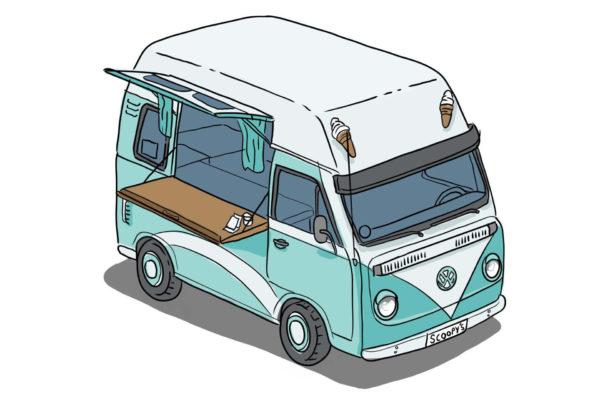 Kombi Ice Cream Van